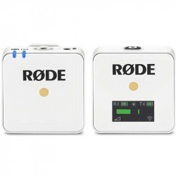 Rode Wireless GO White  Sistema de micrófono inalámbrico Blanco