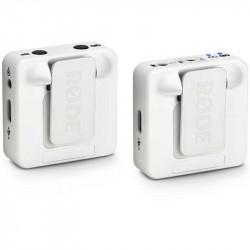 Rode Wireless GO White  Sistema de micrófono inalámbrico Blanco