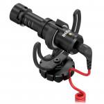 Rode Kit VideoMicro Mic Ultra Compacto Shotgun con boompole y cable