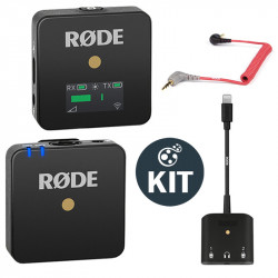 Rode Wireless GO Smart Kit Sistema de micrófono inalámbrico con Lightning