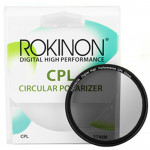 Rokinon Filtro 77mm Polarizador Circular Polarizer