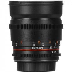 "Rokinon Lente DS Cine 16mm T2.2 para MFT micro 4/3"""