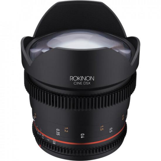 Rokinon DSX14-C  Lente DSX 14mm T3.1 para Canon