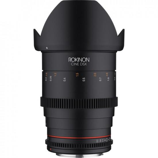 Rokinon DSX35-MFT Lente DSX Full Frame 35mm T1.5