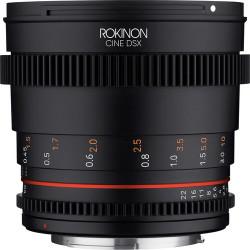 Rokinon DSX50-C Lente DSX Cine High-Speed 50mm T1.5 para Canon