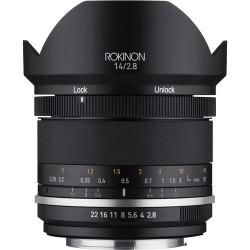 Rokinon Lente 14mm F2.8 Series II para Canon