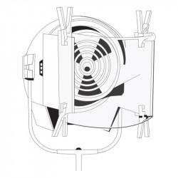 Rosco Filtro Polarizador para luz en pliego de 43 x 51cm