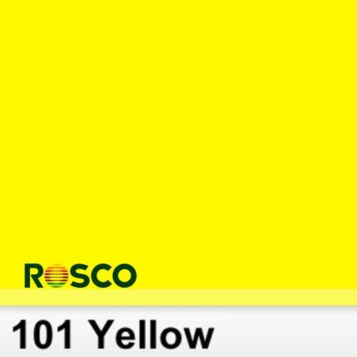 Rosco 101S Pliego Yellow  Amarillo 50cm x 60 cm
