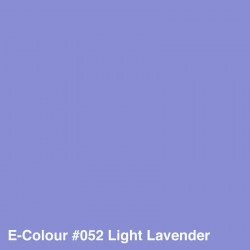 Rosco E-Colour 052 Pliego Light Lavender 50cm x 60 cm