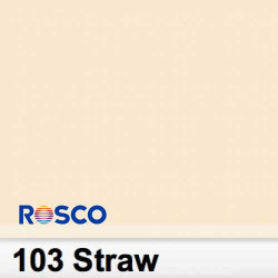 Rosco 103S Pliego Straw 50cm x 60 cm