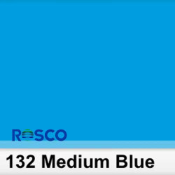 Rosco 132S Pliego Medium Blue 50cm x 60 cm