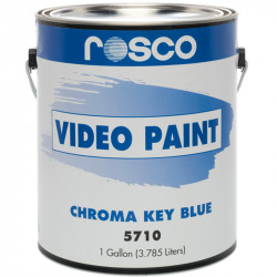 Rosco Pintura Chroma Key Azul / Video Paint 3.8lts