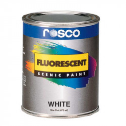 Rosco Pintura fluorescente Blanco Mate 3.8 Litros
