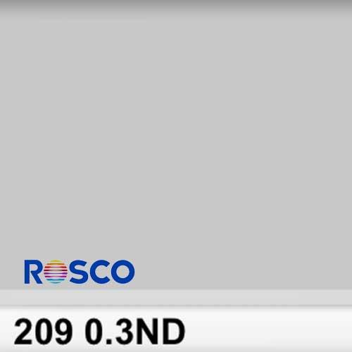 Rosco 209S Pliego 0.3ND 1 Stop  50cmx 60cm