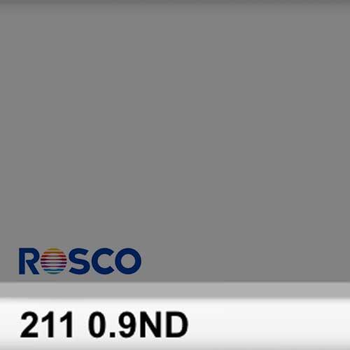 Rosco Rollo 0.9ND 211R 3 Stops  1,22 x 7,62 mts