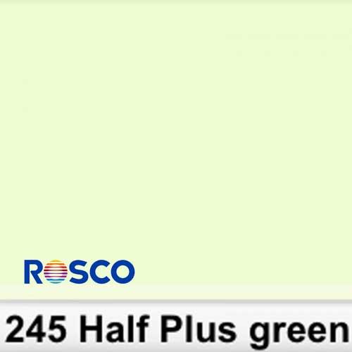 Rosco Pliego 245S 1/2 Plus Green 50cm x 60cm