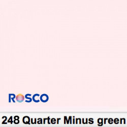 Rosco Rollo 248R Half Minus Green 1,22 x 7,62 mts