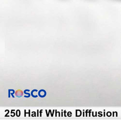 Rosco 250R Rollo 1/2 White Diffusion 1,22 x 7,62 mts
