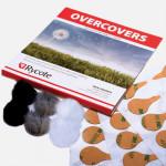 Rycote Overcovers (3 colores) Paraviento para micrófonos Lavalier con 30 stickies