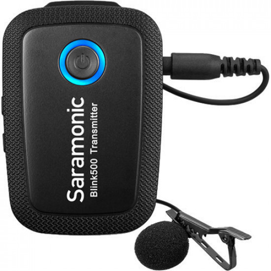Saramonic Blink 500 B6 Sistema de 2 micrófonos Lavalier inalámbrico para USB-C