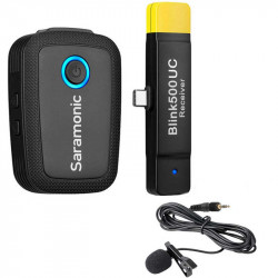 Saramonic Blink 500 B5 Sistema de micrófono Lavalier inalámbrico para USB-C