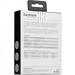 Saramonic LavMicro U1A  Micrófono lavalier para iPhone / iPad con entrada Lighting