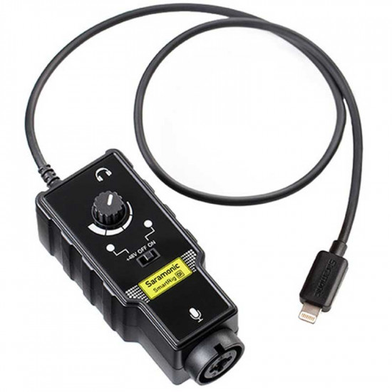 Saramonic SmartRig DI Interface de audio XLR para Lighting