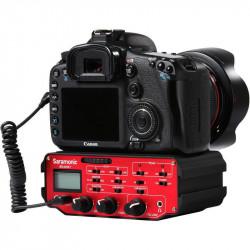 Saramonic SR-AX107 Mixer 2 XLR a 3.5mm