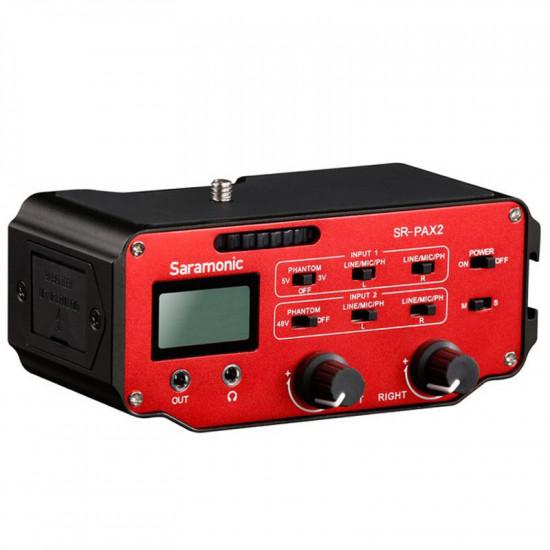 Saramonic Kit 4 usuarios UW Mic09 Kit Sistema Inalámbrico Balita Omni / Mixer