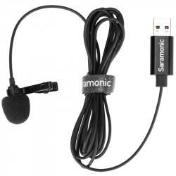 Saramonic ULM10 Micrófono Lavalier con conector USB