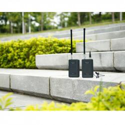Saramonic SR-WM4C Lavalier omnidireccional Inalambrico VHF 4 canales