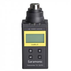 Saramonic TX-XLR9 Plug-on XLR Transmisor inalámbrico para el kit  UW Mic 9 UHF