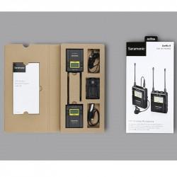 Saramonic UW Mic09 Kit Sistema Inalámbrico Lavalier Omni / 1 Receptor para Cámara