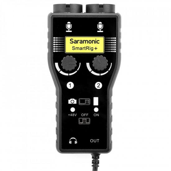 Saramonic SmartRig +  Mixer de audio 2 XLR para DSLR y Smartphones