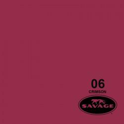 "Savage Fondo de Papel ""Crimson""rojo carmesí para backdrop de 1,35  x 11 mts SAV-06-53"