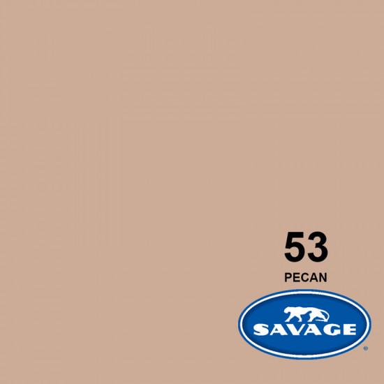 """Savage Fondo de Papel """"Pecan"""" Nuez para backdrop de 1,35  x 11 mts SAV-53"""