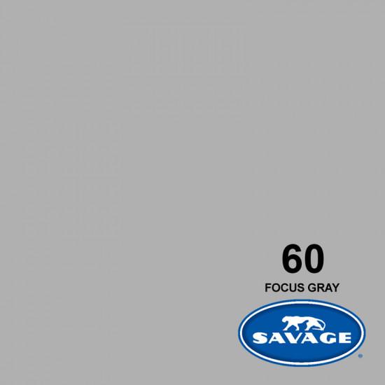 "Savage Fondo de Papel ""Focus Gray"" Gris para backdrop de 1,35  x 11 mts SAV-60"