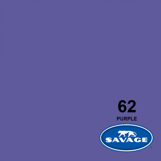 "Savage Fondo de Papel ""Purple"" para backdrop de 1,35  x 11 mts SAV-62"