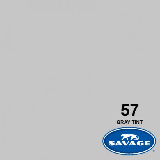 "Savage Fondo de Papel ""Gray Tint"" Toque Gris para backdrop de 2,72  x 11 mts SAV-57"