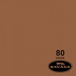 """Savage Fondo de Papel """"Cocoa"""" para backdrop de 2,72  x 11 mts SAV-80"""