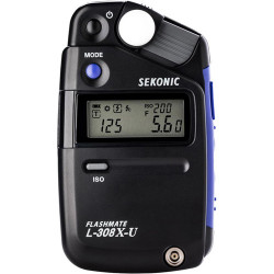 SEKONIC L-308X Flashmate - Luz de Incidencia / Flash y Ambiente