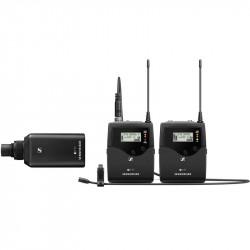 Sennheiser EW 500P FILM Inalámbrico G4 Balita para Cámara con micrófono MKE-2 Gold y Plug-On AW+ (470 to 558 MHz)