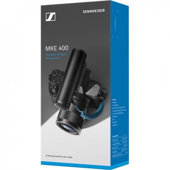 Sennheiser MKE 400 Shotgun compacto para cámara o smartphone