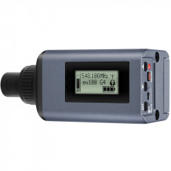 Sennheiser SKP 100 G4-GB Plug on Transmisor XLR Frecuencia GB (606- 668 MHz)