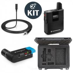 Sennheiser AVX-ME2 Kit Sistema Micrófono Inalámbrico Lavalier ME2 (balita) AVX con maleta