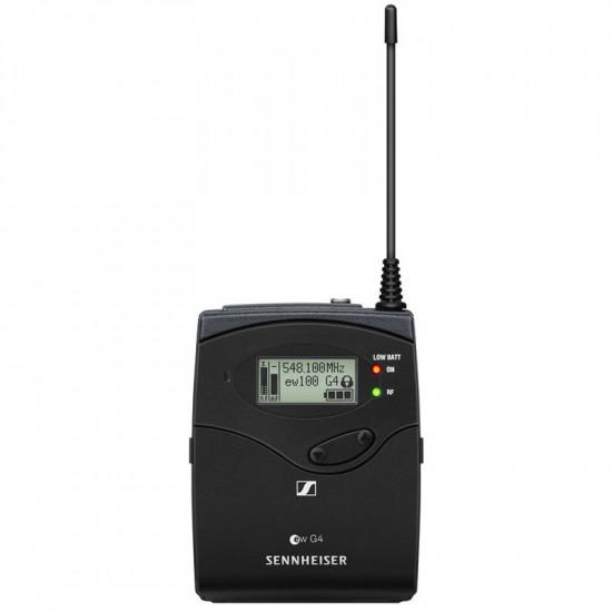 Sennheiser EW 100ENG G4 B Inalámbrico Balita + Plug-on Cámara con ME 2-II (626 a 668 MHz )