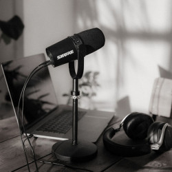 Shure MV7 Micrófono para Podcast con XLR + USB