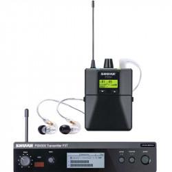 Shure PSM 300 Sistema de Monitor inalámbrico de oídos Sonoprompter