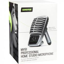 Shure MOTIV MV51 Micrófono USB cardioide de diafragma grande
