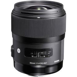 Sigma 35mm f/1.4 DG HSM Art Lente para cámaras Canon Full Frame DSLR